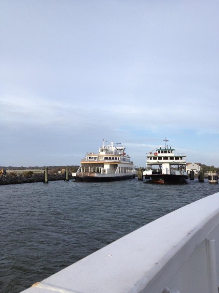 Plentiful rain and a ferry trip to Ocracoke Island and Hatteras Island. (1/6)