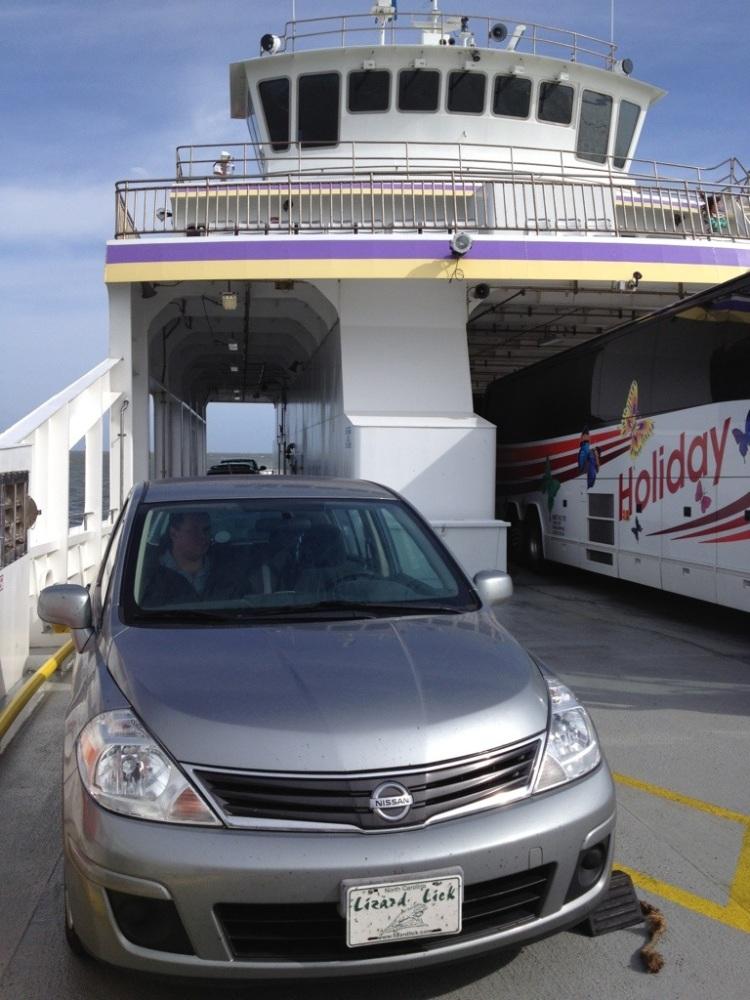 Plentiful rain and a ferry trip to Ocracoke Island and Hatteras Island. (3/6)