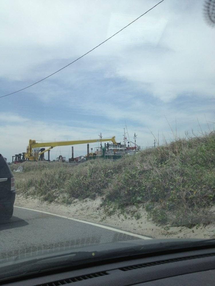 Plentiful rain and a ferry trip to Ocracoke Island and Hatteras Island. (6/6)