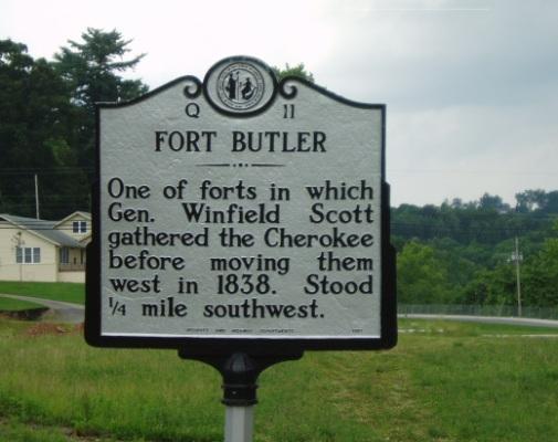 Fort Butler Marker